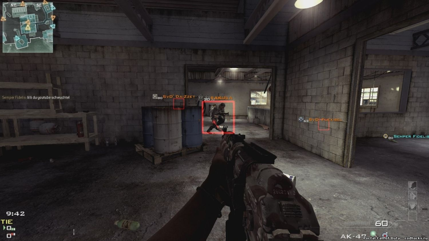 Get all of your favorite cod8 mw3 hacks, cheats, trainers and call of duty 8 modern warfare 3 hack downloads