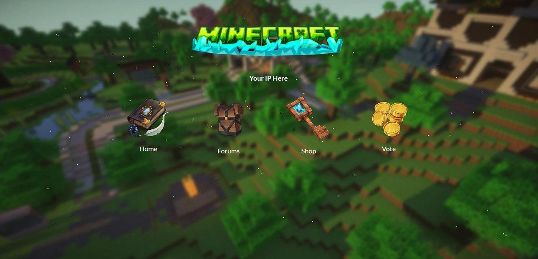 Tolle Minecraft Server Vorlage Zeitgenössisch ...