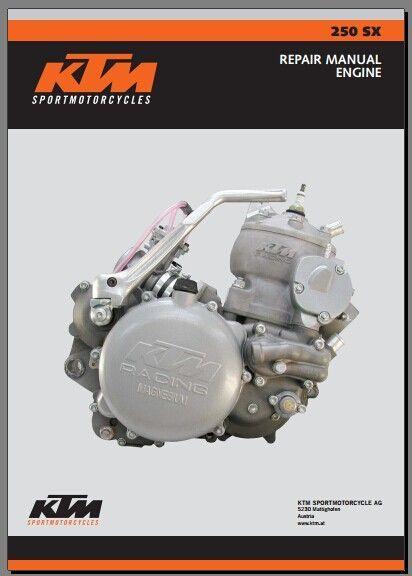 Motorbikes - KTM Service Repair Workshop Manuals