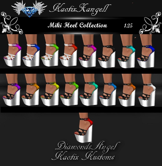 Miki Heels Collection