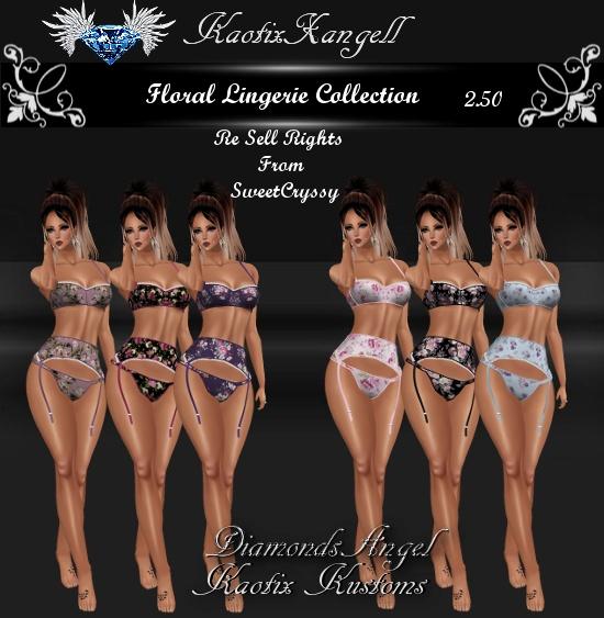Floral Lingerie Collection
