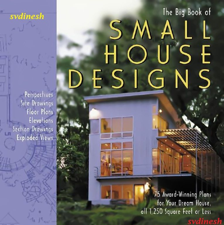 The big book of small house designs pdf for Small house design book pdf