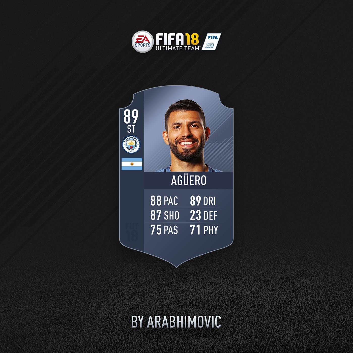FIFA 18 HD CONCEPT CARD