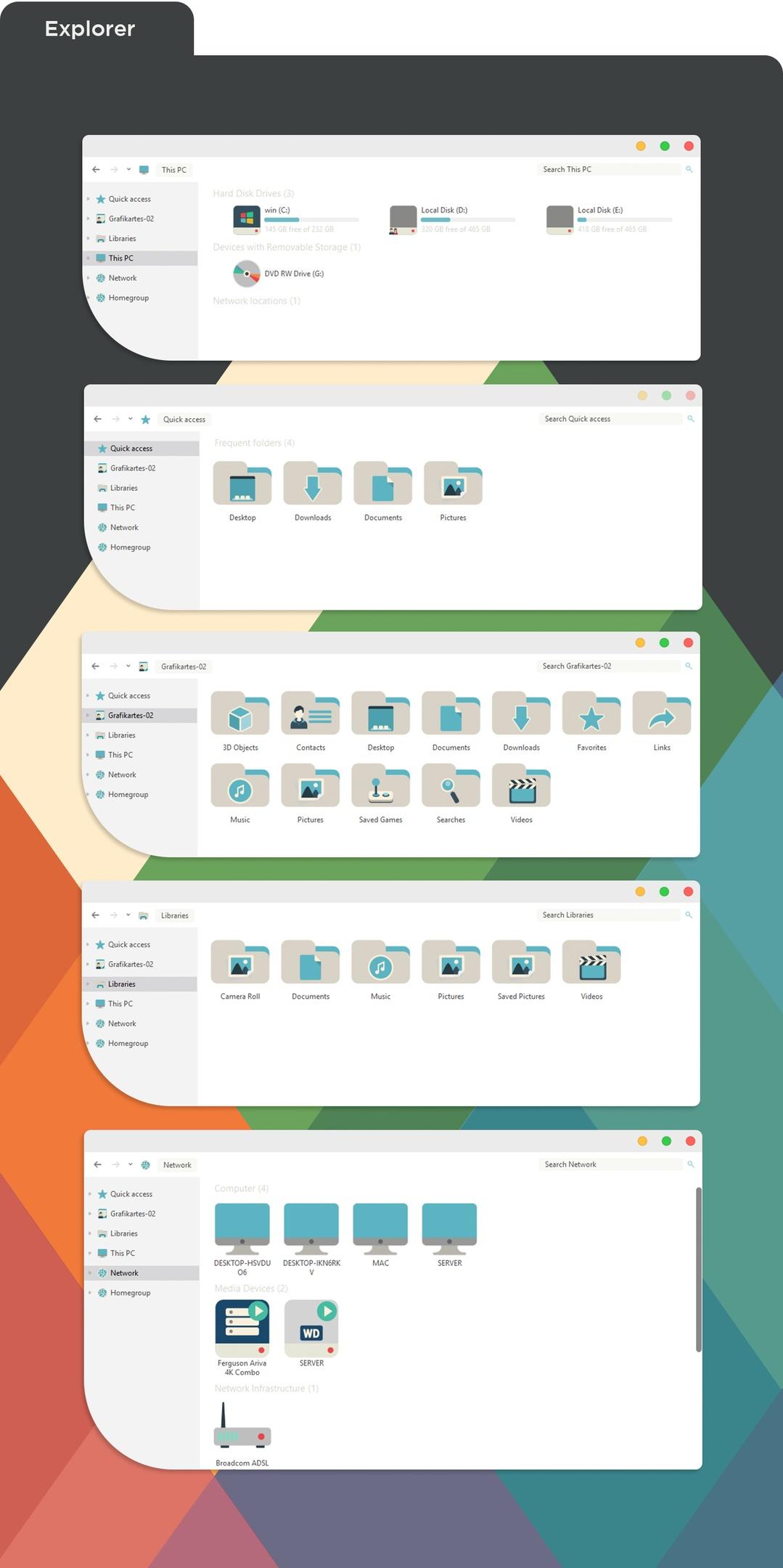 iConadams Windows iConpack installer 2017