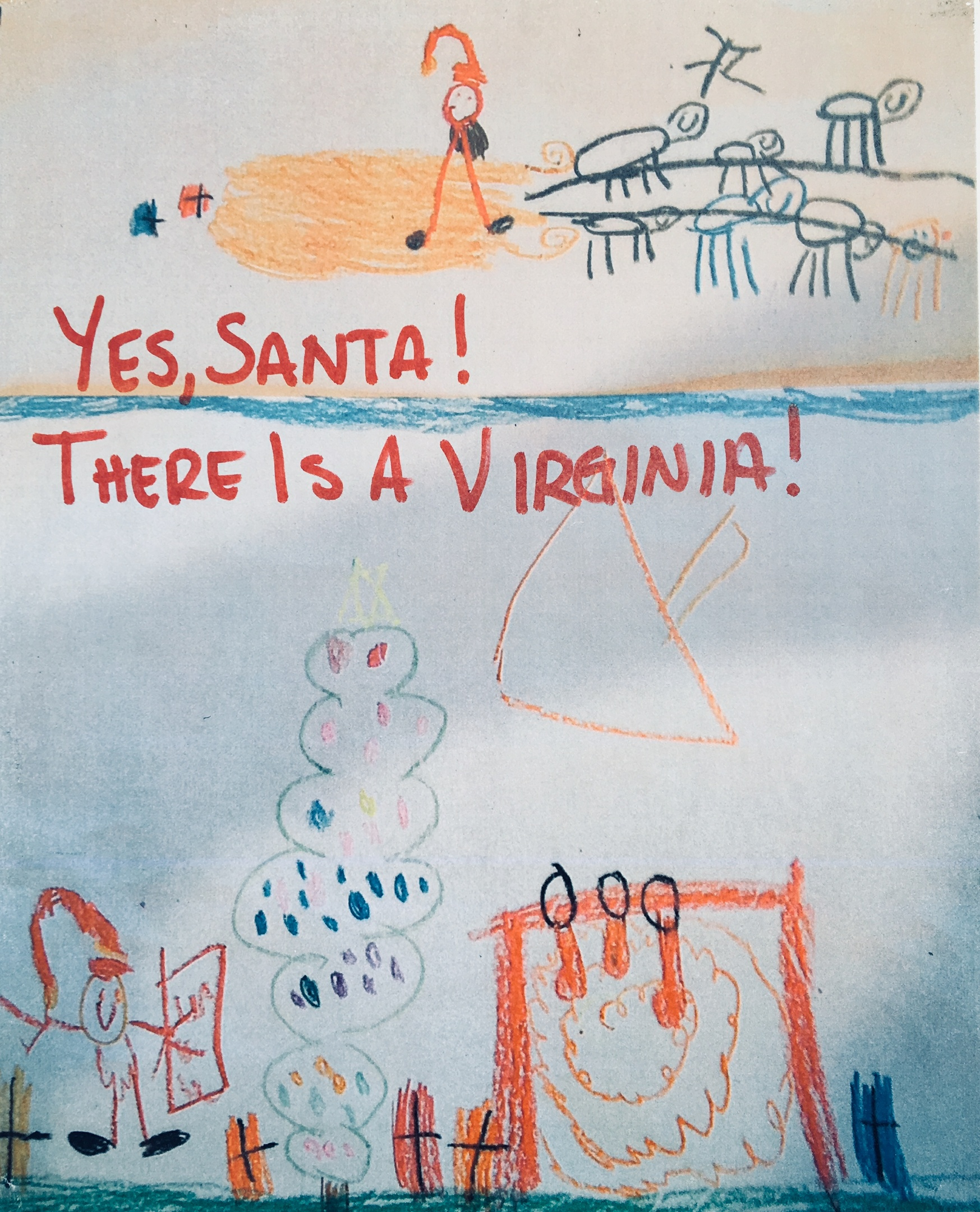 Yes, Santa! There Is A Virginia!--FREE Audiobook