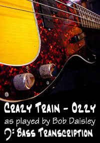 Crazy Train by Ozzy Osbourne (Bass: Bob Daisley)