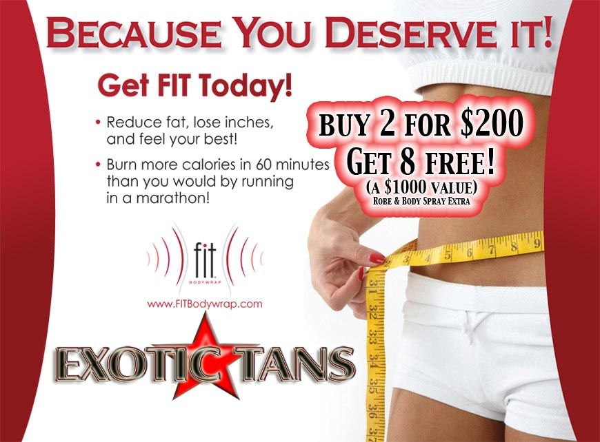 Fit Body Wraps Buy 2 get 8 FREE!
