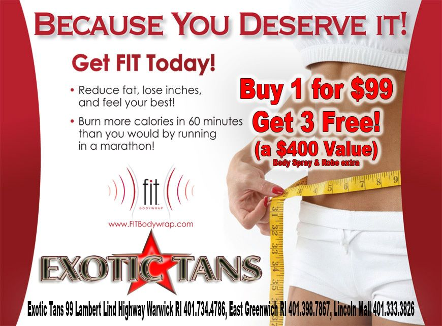 Fit Body Wraps Buy 1 get 3 FREE!