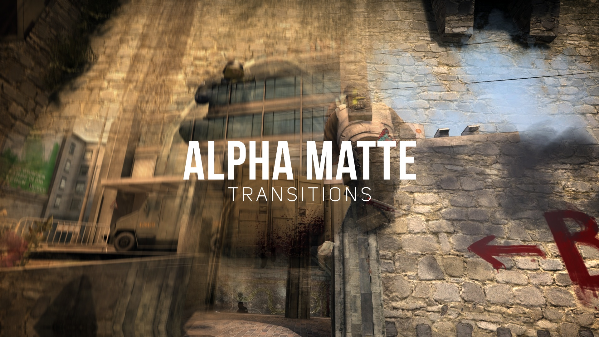 Alpha Matte Transitions Pack