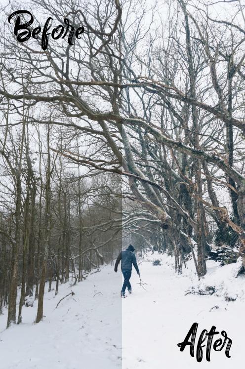 Snow - Lightroom Preset - Will Lamerton (@willlamerton)