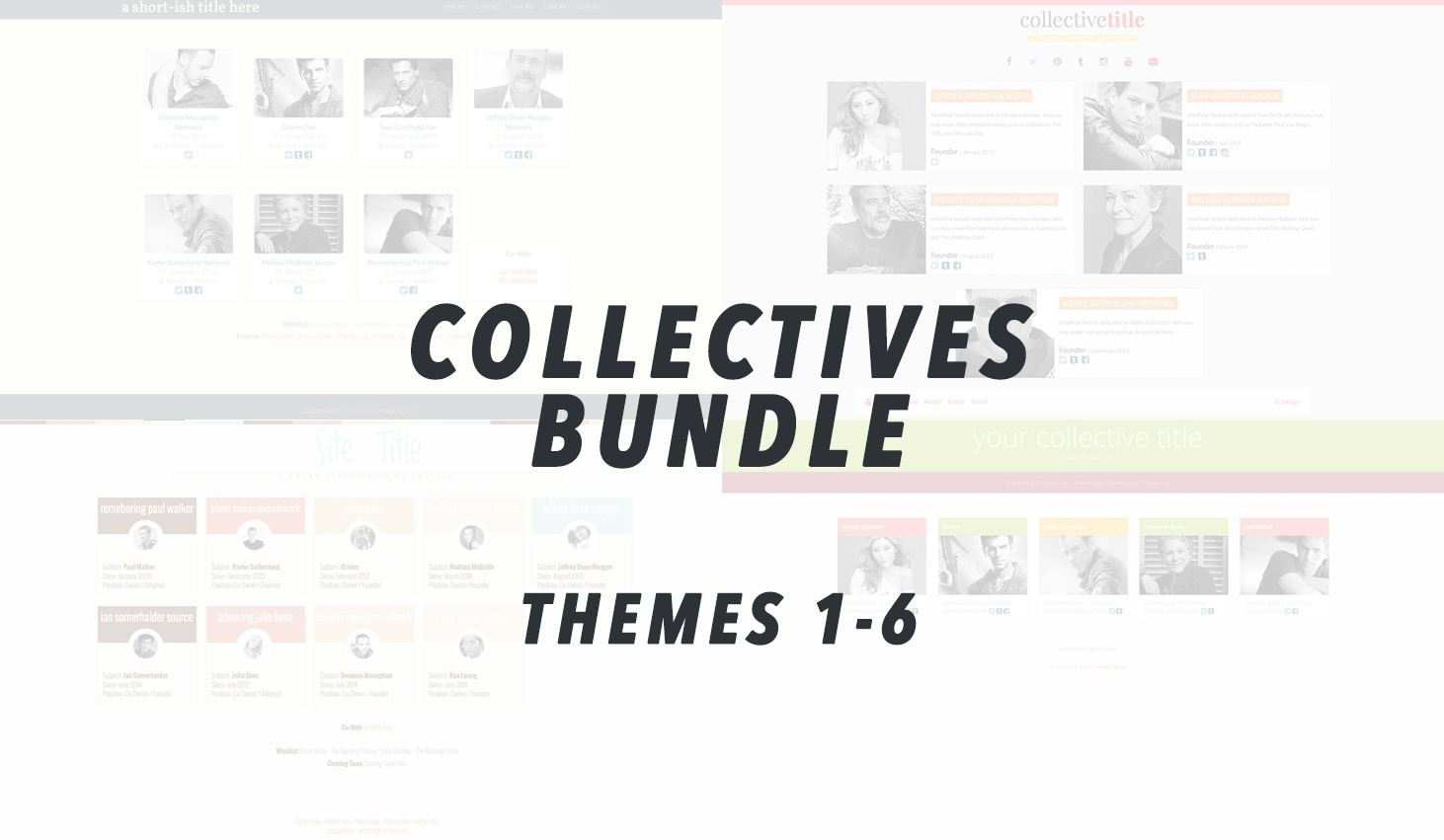 [BUNDLE] Collectives 1-6