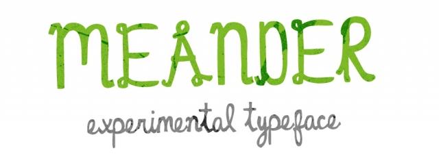Meander Font