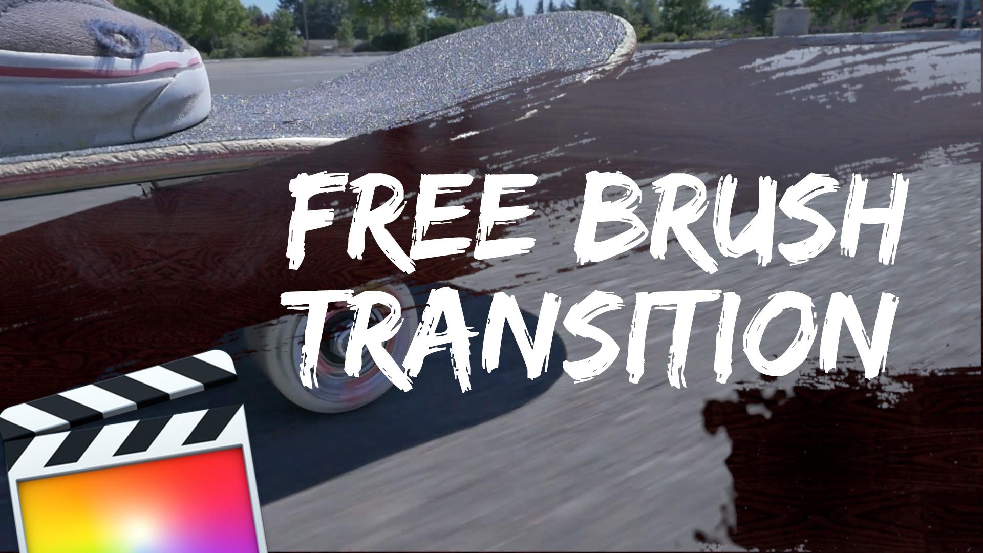 Free brush transition