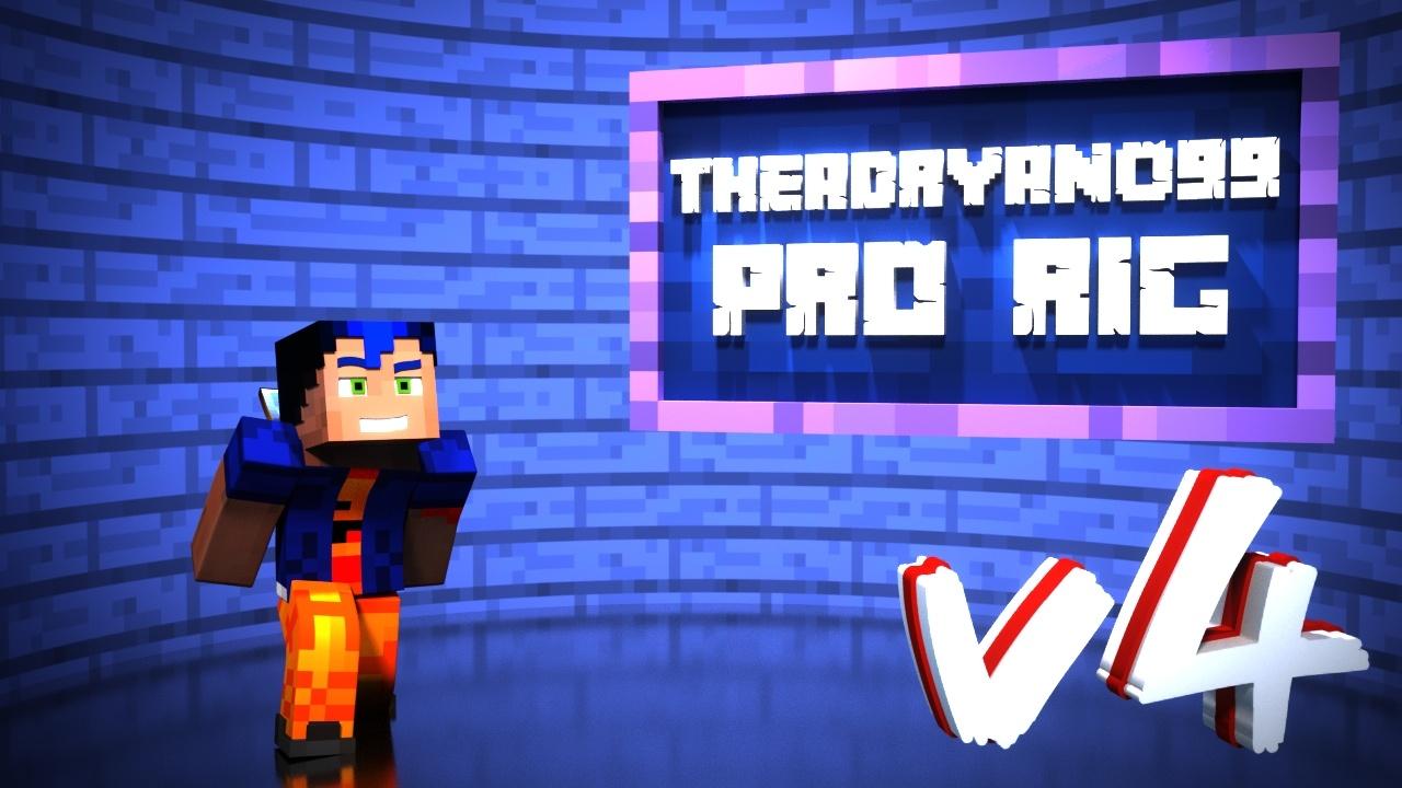 TheAdryano99 Pro Rig {v4} - For Blender