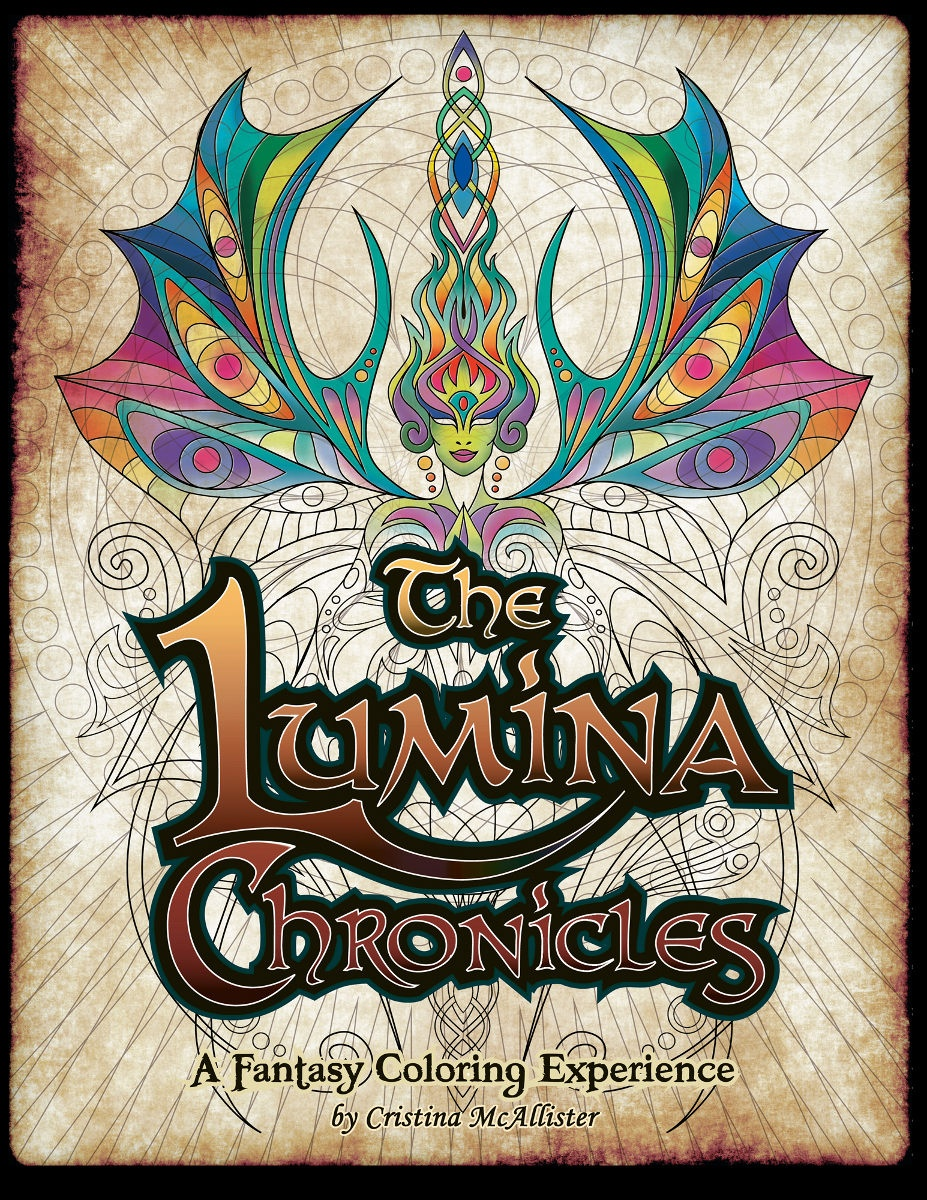 Lumina Print Pack - 30 Beautiful Print-Your-Own Coloring Pages