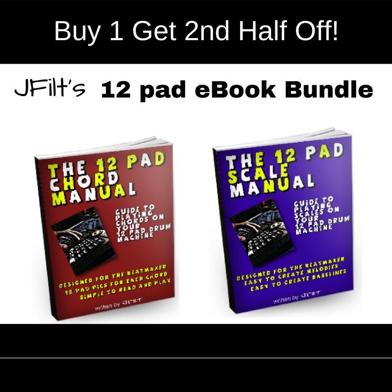 JFilt 12Pad Ebook Bundle [HowToMakeVerySickBeats.com}