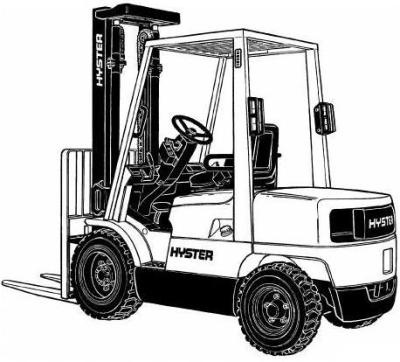 Hyster Forklift Truck H177 Series: H2.00XM, H2.50XM, H3.00XM, H3.20XML Workshop Service Manual