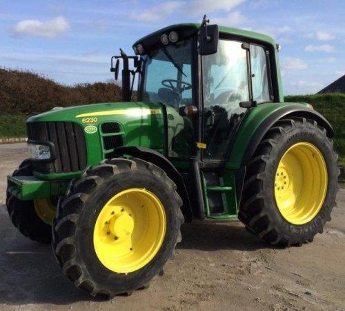 John Deere Premium  6230, 6330, 6430 Tractors Diagnosis and Tests Service Manual (TM8081)