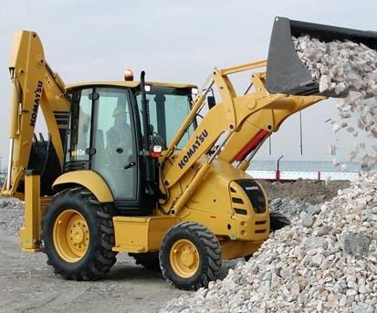 Komatsu Backhoe Loader WB93R-5 sn: F50003 and up Operating and Maintenance Instructions