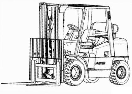Hyster Forklift Truck K005 Series: H70XM, H80XM, H90XM, H100XM, H110XM, H120XM Spare Parts List