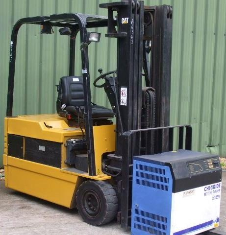 Caterpillar Electric Forklift Truck Microcommand Control System EP13T, EP15T, EP18T, EP20T Manual