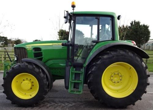 John Deere 6130, 6230, 6330, 6430, 6530, 6534, 6630 Europe Tractors Service Repair Manual (TM400519)