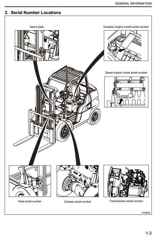 Caterpillar Diesel Forklift Truck DP40N, DP45N, DP50N, DP55CN, DP55N Workshop Service Manual