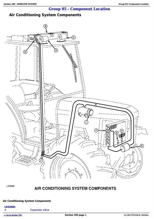 John Deere 5400N and 5500N Tractors All Inclusive Technical Service Manual (tm1585)