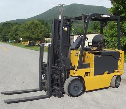 Caterpillar Electric Forklift Truck M70D, M80D, M100D, M120D Workshop Service Manual