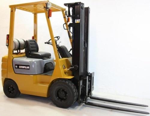 Caterpillar Gasoline and LPG Forklift Truck: GP15, GP18, GP20, GP25, GP30, GP35 Service Manual