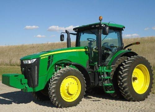 John Deere 8235R, 8260R, 8285R, 8310R, 8335R, 8360R Tractors Repair Manual (TM110319)
