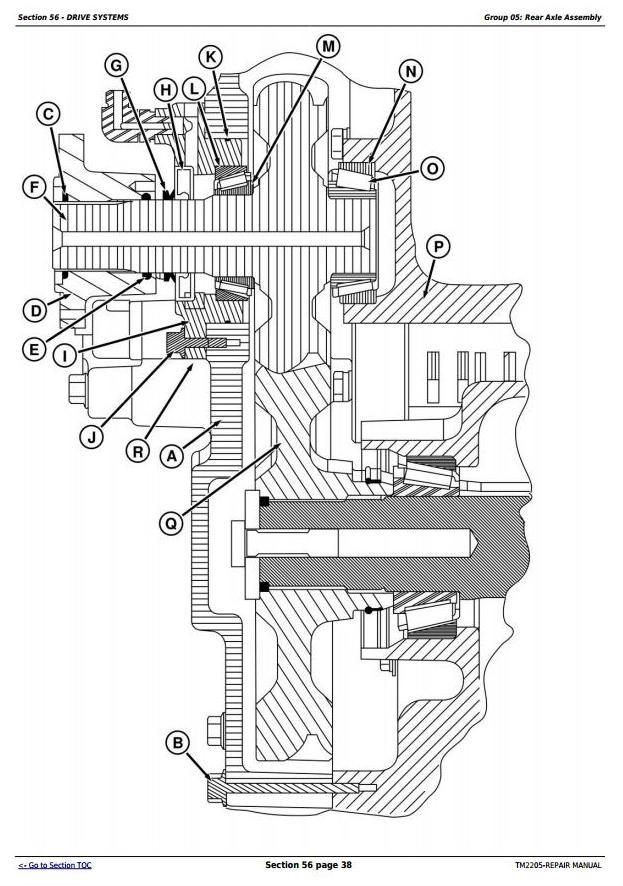 John Deere 8230T, 8330T and 8430T Tracks Tracks Tractors Service Repair Manual (TM2205)
