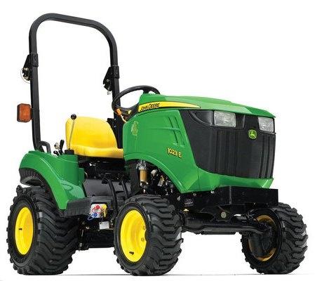 John Deere 1023E & 1026R Worldwide Compact Utility Tractors Technical Manual (TM109719)