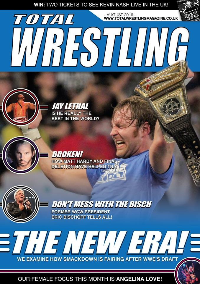 Total Wrestling Magazine August 2016