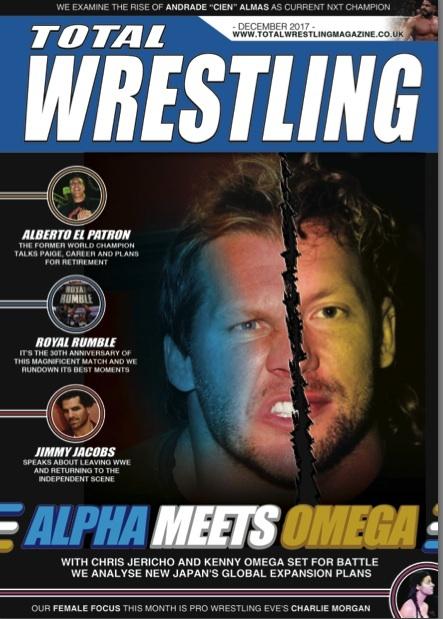 Total Wrestling Magazine December 2017