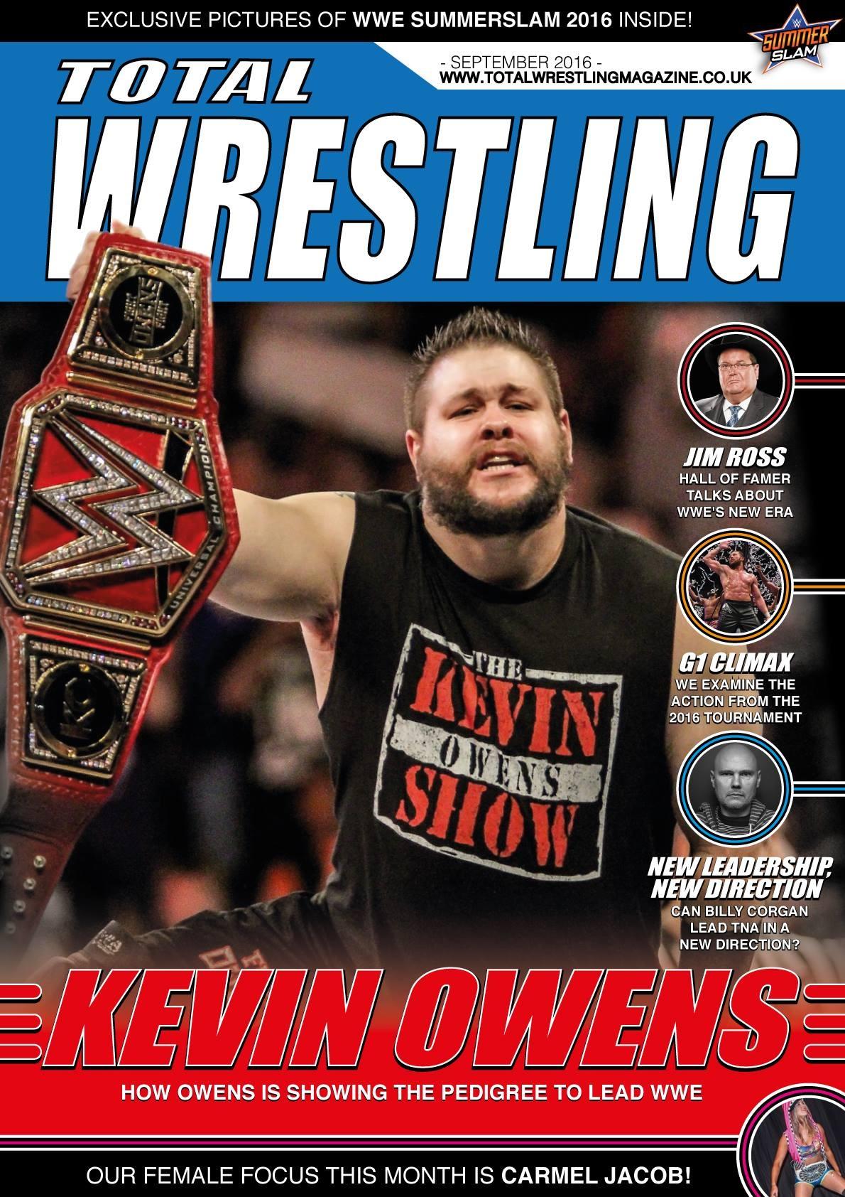 Total Wrestling Magazine September 2016