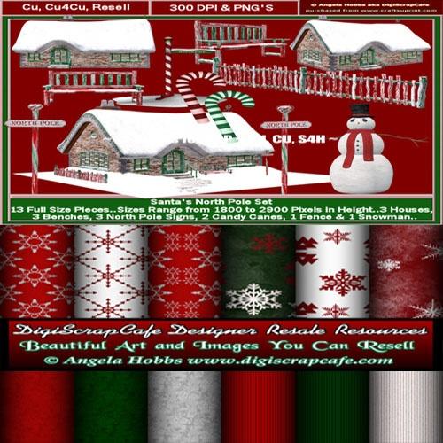 Christmas Art And Paper Bundle Kit
