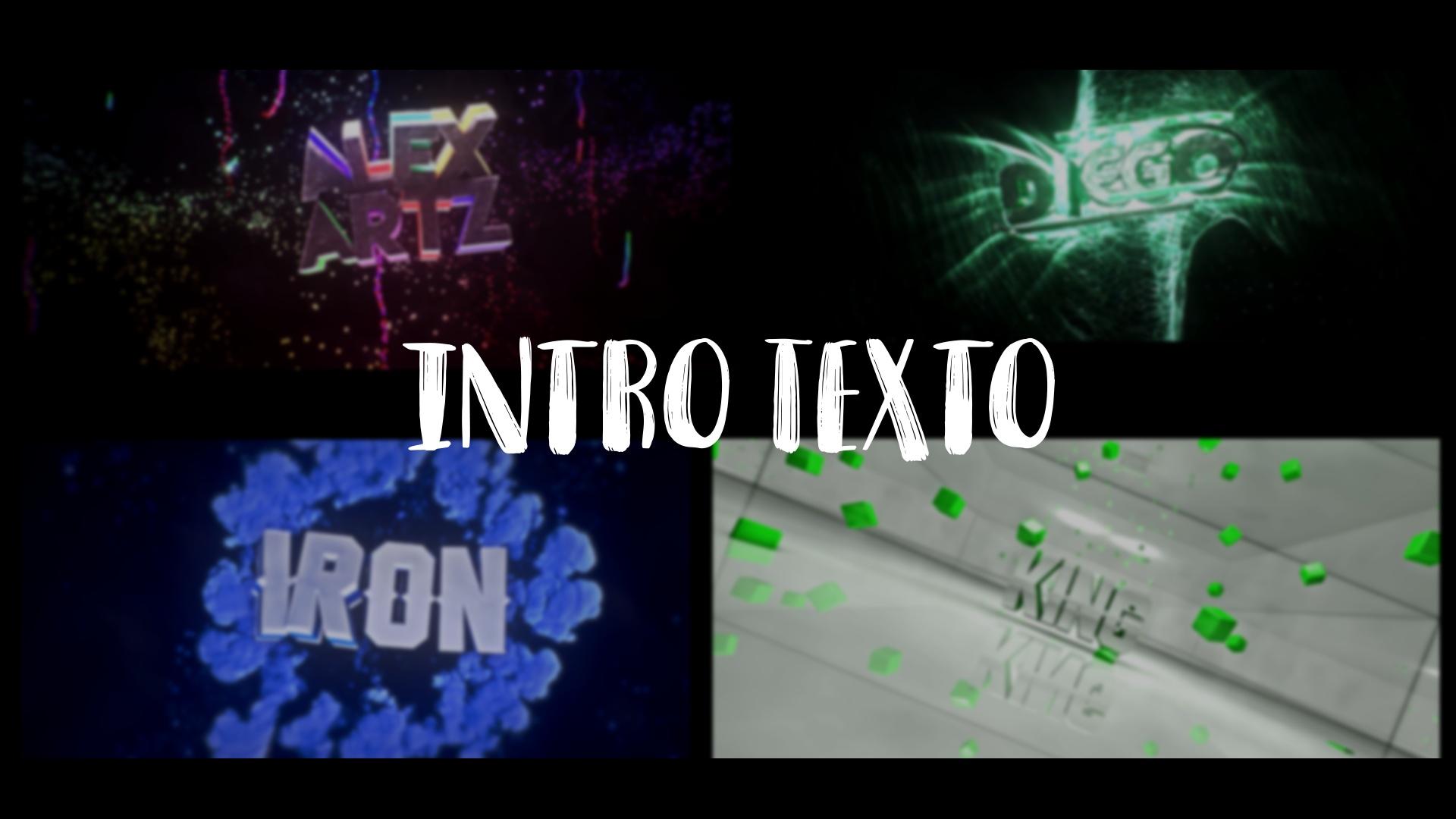 Intro Texto 720p 60FPS!