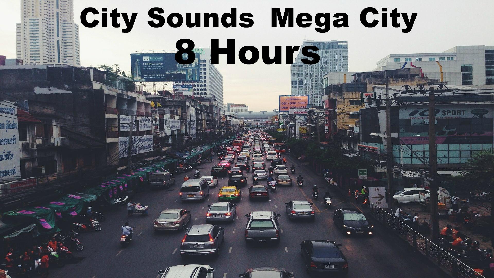 Ambience Hub - City Sounds - Mega City