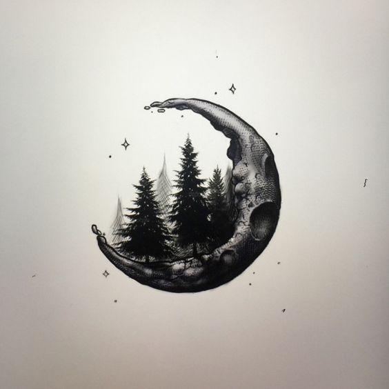 The Moon Logo