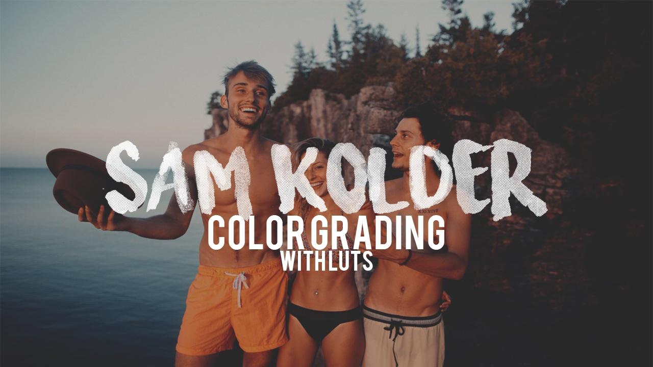 Sam Kolder Color Grading FREE LUT Pack