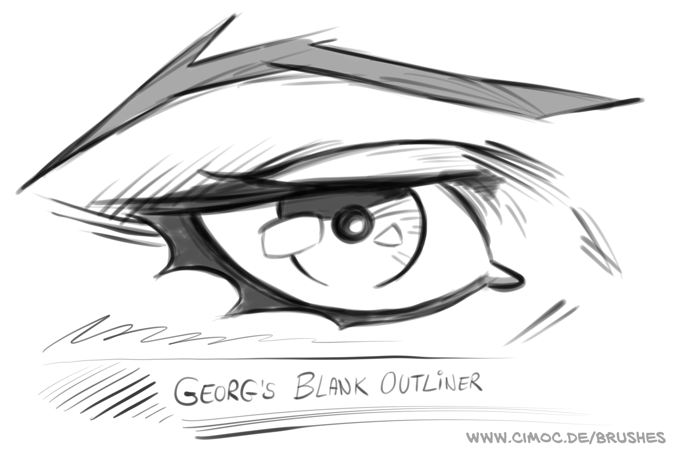 If you like the sketch brushes check out my other brush sets too https sellfy com georgvw