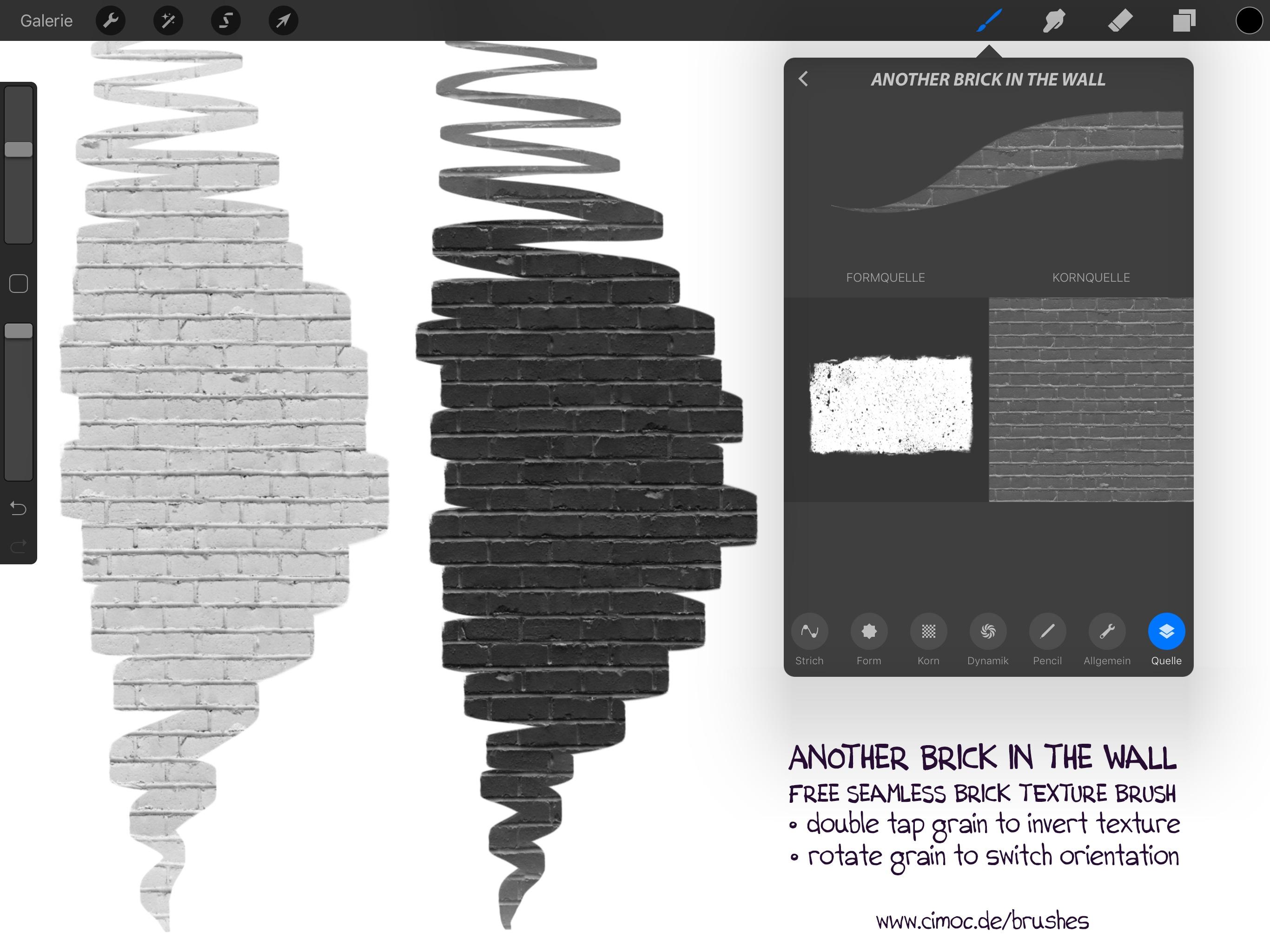 20+ FREE Pattern Brush Set for Procreate incl  Animal - Georg's