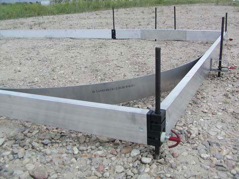 Concrete Flat work take of lesson