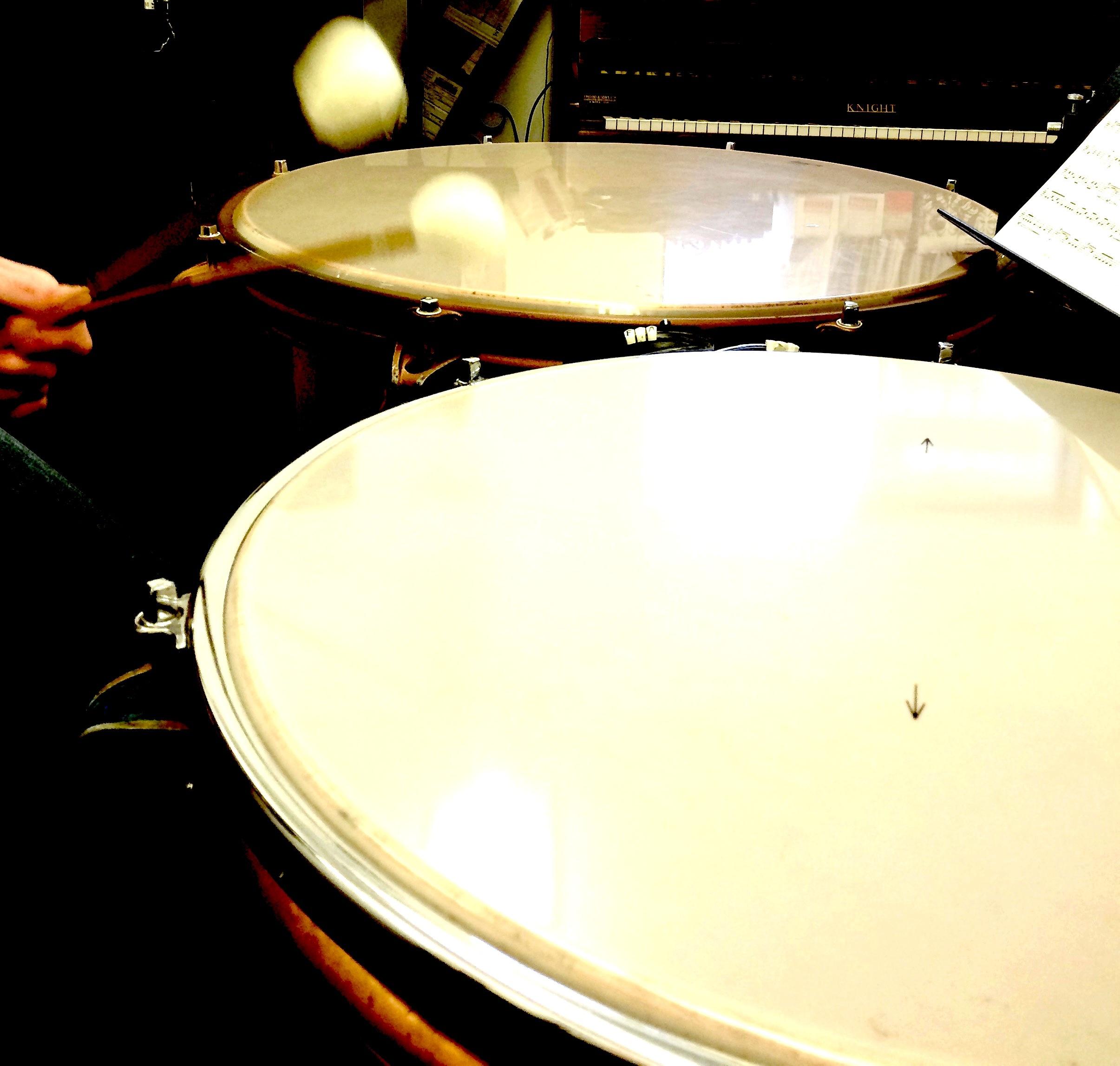 Timpani Tunes with piano accompaniments