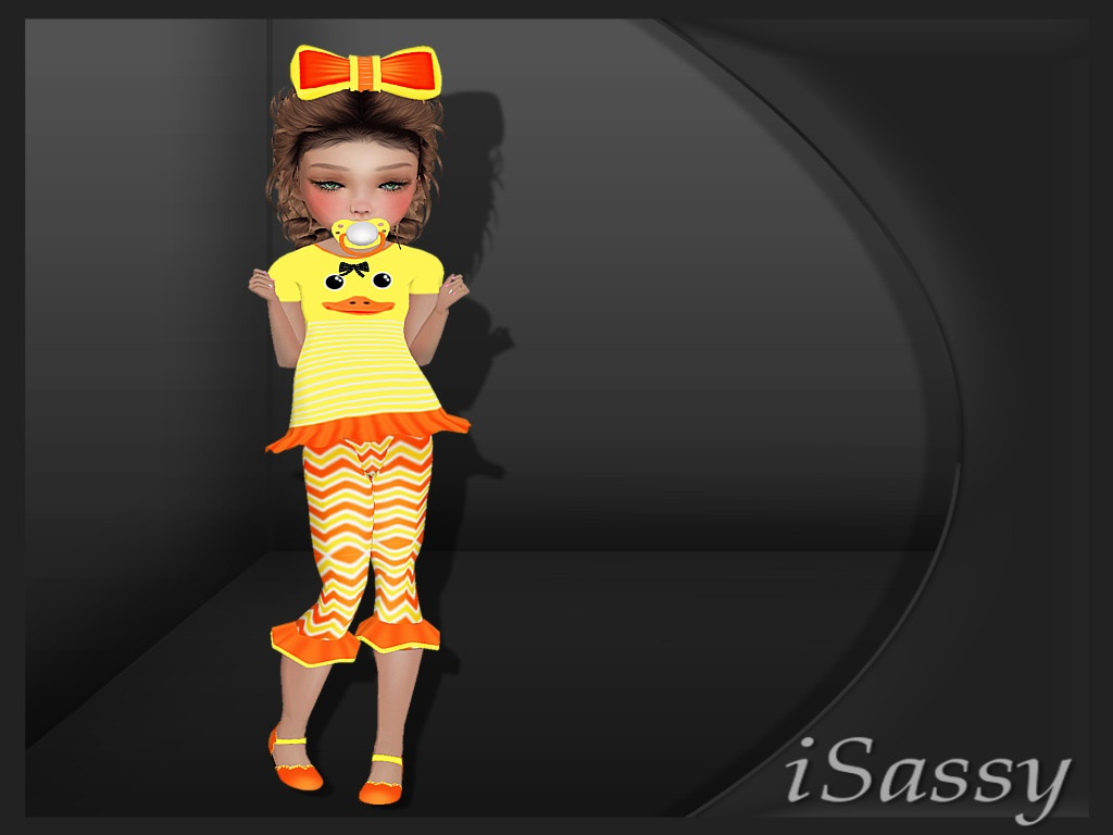 Kids Duck Outfit - PSD