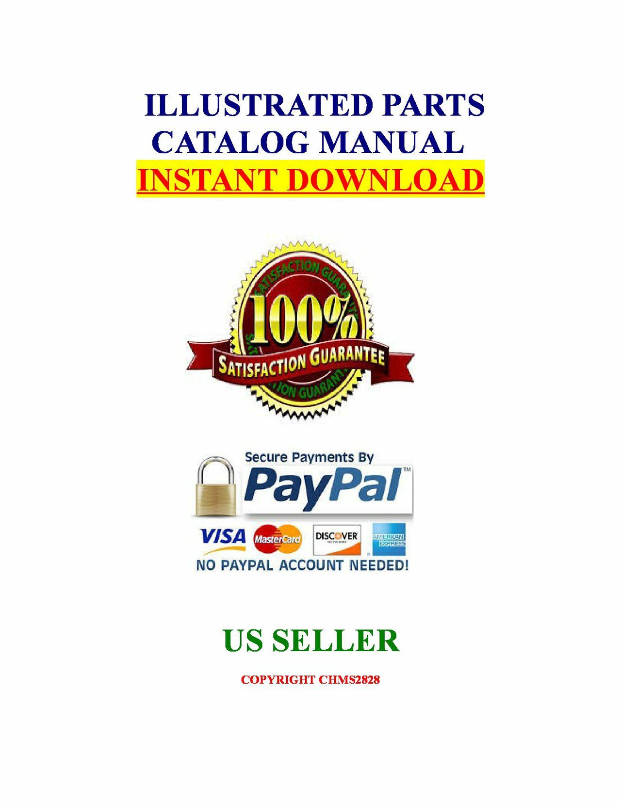 Kubota L175 Tractor Illustrated Master Parts Catalog Manual Guide download