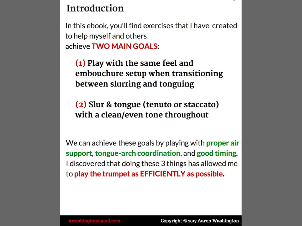 Flexibility Workouts for Trumpet (Full Version)
