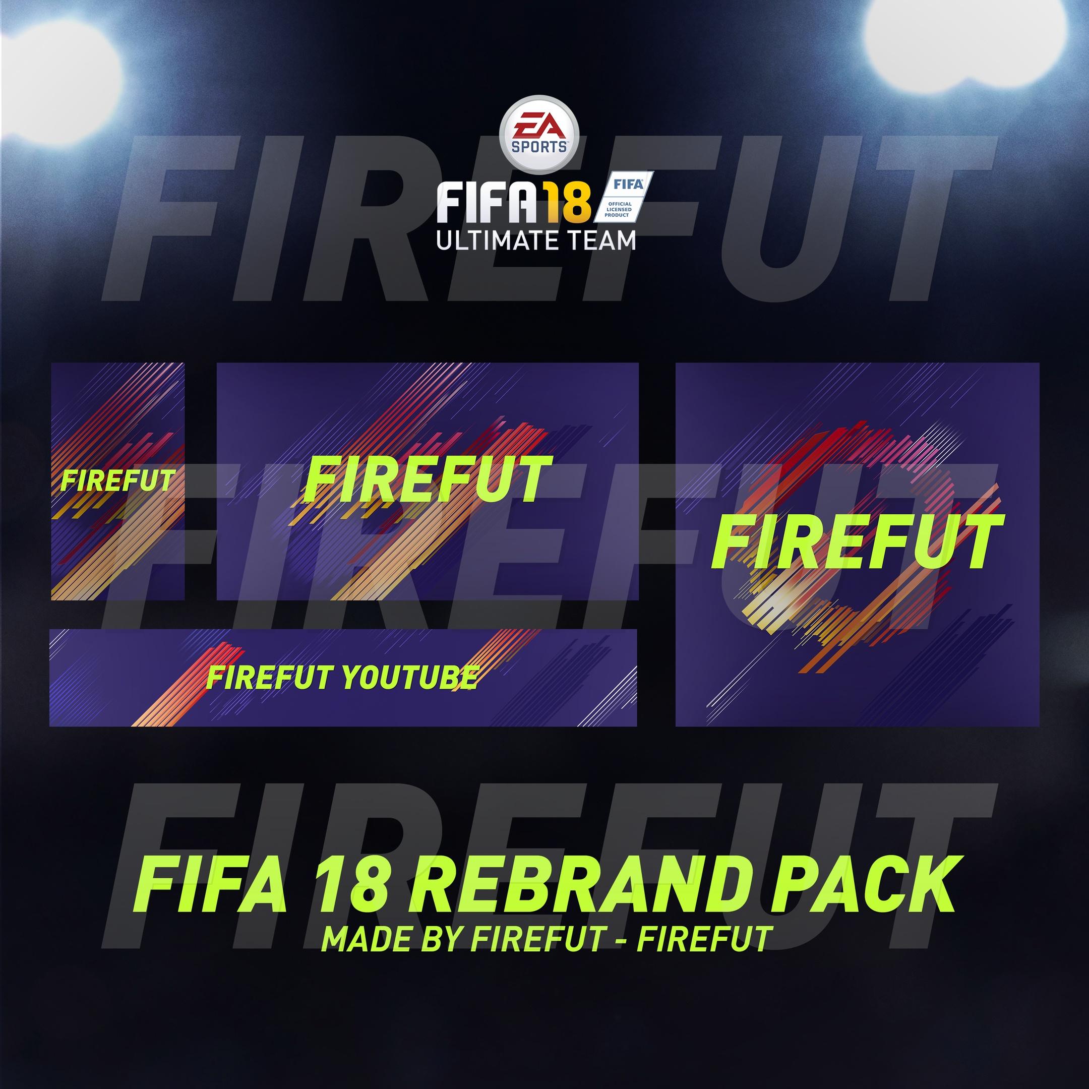 FIFA 18 Rebrand pack