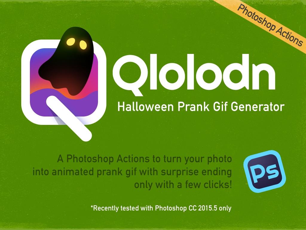 Qlolodn: Free Halloween Prank Gif Generator